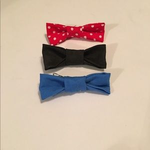 3 pack hair bows for girls
